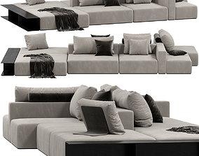 Poliform WESTSIDE DIVANO sofa 3D