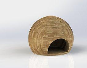 3D print model Cats house Ball