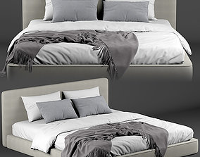 3D model Meridiani bed Plus