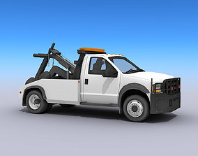 NYPD Tow Truck 3D model