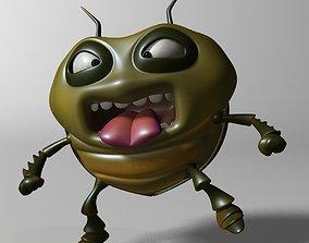 Cartoon Bug RIGGED 3D model
