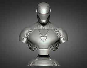 3D print model Iron Man MK50 bust - Infinity War