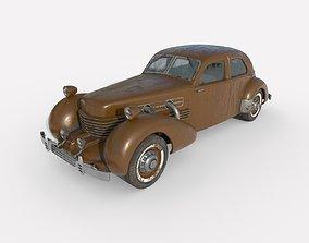 3D model PBR Abandoned Car 69