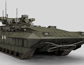 3D model millitary T-15 ARMATA