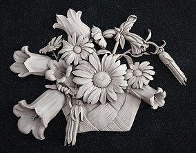 3D print model Vase Flowers