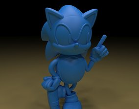Sonic 3D printable model sonicchaos