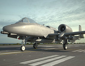 Fairchild Republic A-10 Thunderbolt II 3D