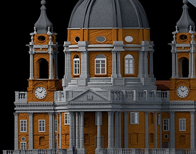 BASILICA di SUPERGA TURIN 3D model
