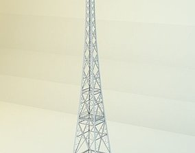 Radio Tower 3D asset