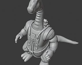 3D print model Bronto Thunder Dinosaucers