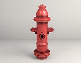 3D model City Fire Hydrant
