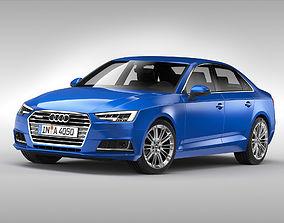 Audi A4 2016 3D