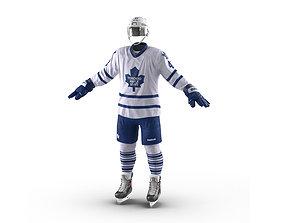 3D model Hockey Equipment Toronto Maple Leafs