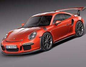 Porsche 911 GT3RS 2016 3D model