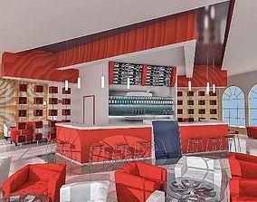 3D model Coffee House Interior