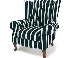 furniture armchair 3D asset