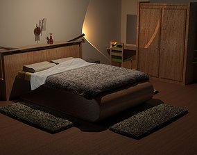 design home Modern Bedroom 3D model