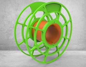 3D print model Empty spool assembly