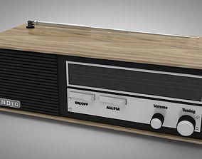 3D model Grundig vintage radio