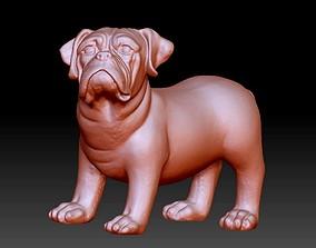 French Bulldog 3D printable model