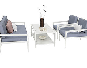 Outdoor furnitures 06 3D