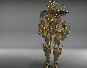 3D print model Libra gold saint armor from Saint Seiya 2