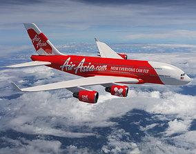 AirAsia A-380 3D model