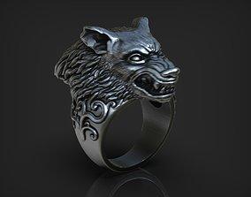 3D printable model Werewolf Ring printable