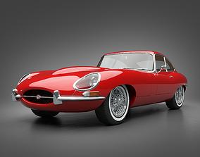 1961 Jaguar E-Type 3 8 Coupe 3D model