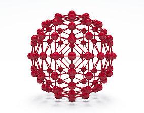 Futuristic Sphere Shape 3D Printing Model
