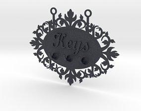 colgador 3D printable model Keys Hanger