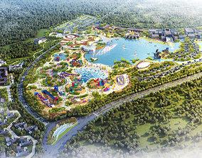 3D Amusement park 001