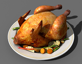 3D model Food Chicken
