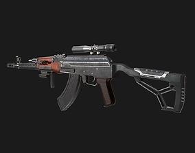 3D model Assault AK 47