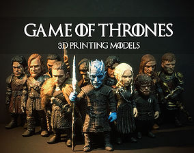 gameofthrone GAME OF THRONES 3D PRINTING MODEL SET