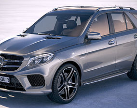 3D model Mercedes GLE43 AMG wagon 2018