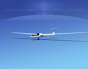3D model Glaser Dirks DG200 15Mtr Sailplane V08