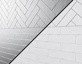Cifre ceramica colonial matt Wall tiles 3D model
