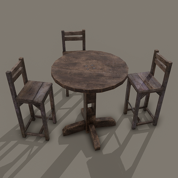 Tavern Table and Chairs