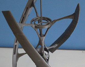 Avalon spaceship 3D print model