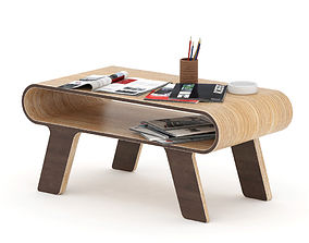 3D Plywood coffee table