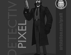 3D asset Detective pixel