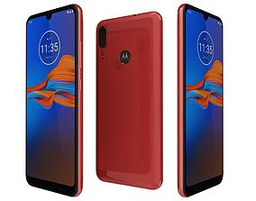 3D Motorola Moto E6 Plus Bright Cherry