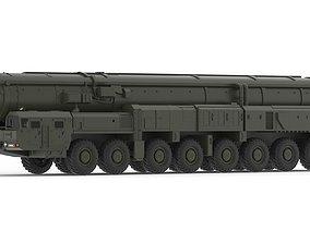 3D model RS-28 Sarmat