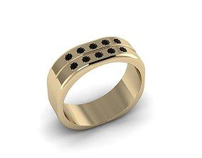 Men Jewerly Ring 011 3D print model