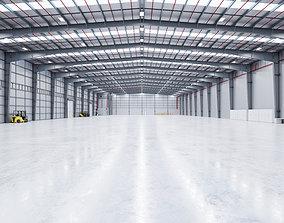 Industrial Warehouse Interior 13 3D model