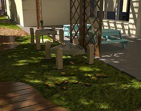 The garden of Kids 3D model