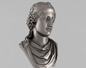 Printable bust of Aphrodite