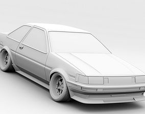 3D Toyota Levin AE86