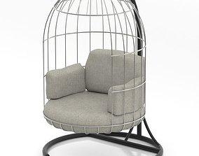 Birdcage chair 3D model